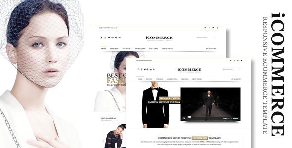 ThemeForest iCommerce Retina Responsive Ecommerce Template 6510020