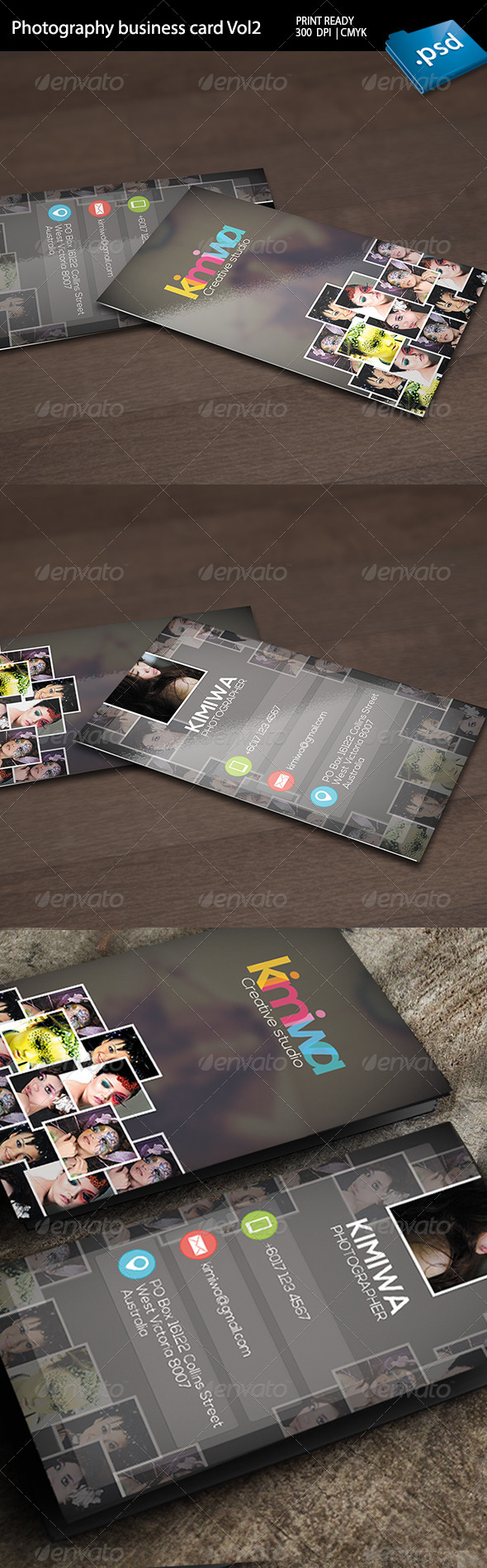 GraphicRiver Photography Business Card Vol2 6511074
