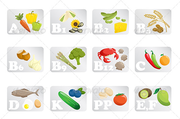 GraphicRiver Food Vitamins 6511258