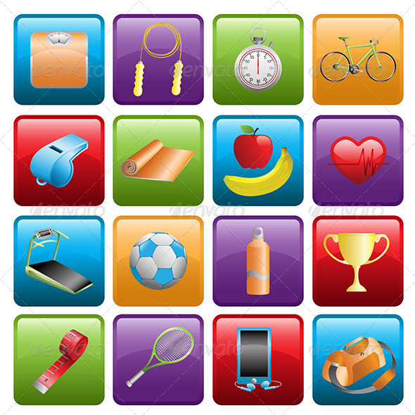 GraphicRiver Sport Icons 6511343