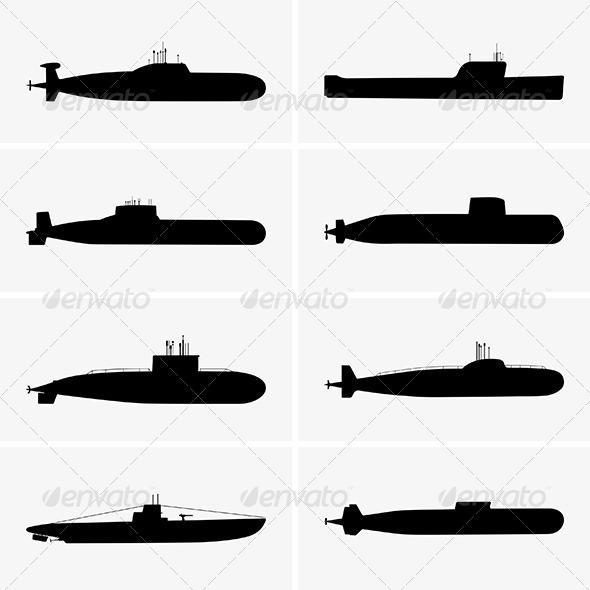 GraphicRiver Submarines 6511386