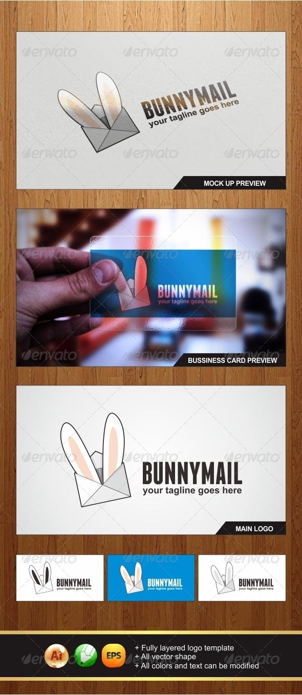 GraphicRiver Bunny Mail Logo 6511388