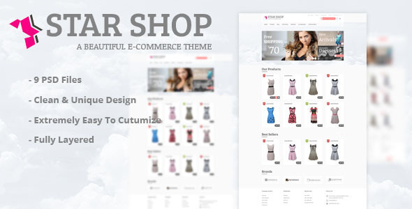 Star Shop eCommerce HTML Template