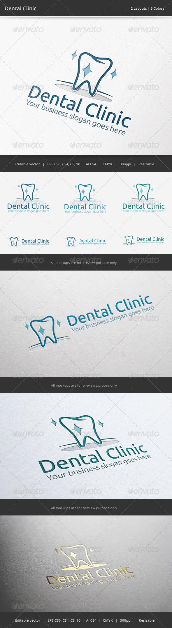 GraphicRiver Dental Clinic Logo 6511833