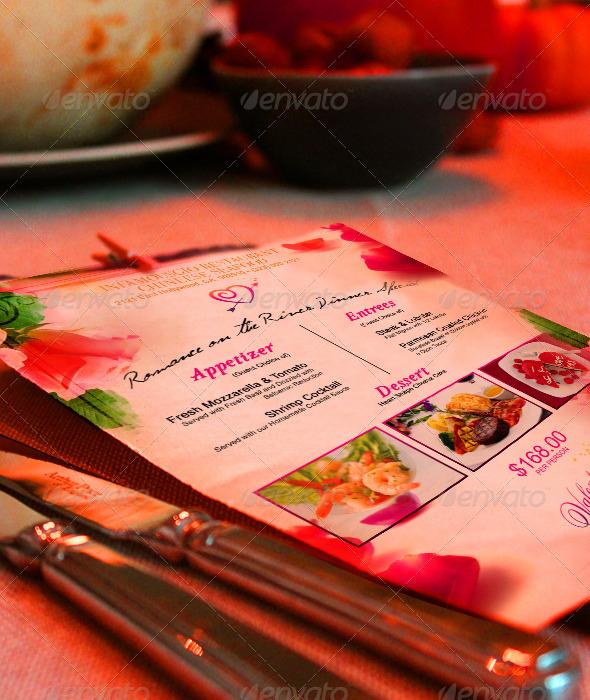 GraphicRiver St Valentines Menu 2 6489654
