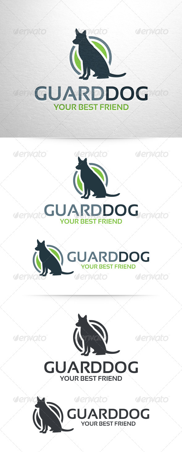 GraphicRiver Guard Dog Logo Template 6512177