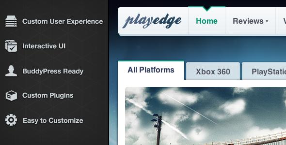 MediaEdge wp preview.  large preview  MediaEdge   Multi Purpose News Media Template (Blog / Magazine)