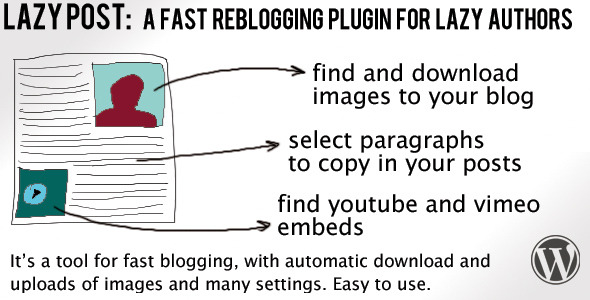 CodeCanyon Lazy Post Plugin 6512448
