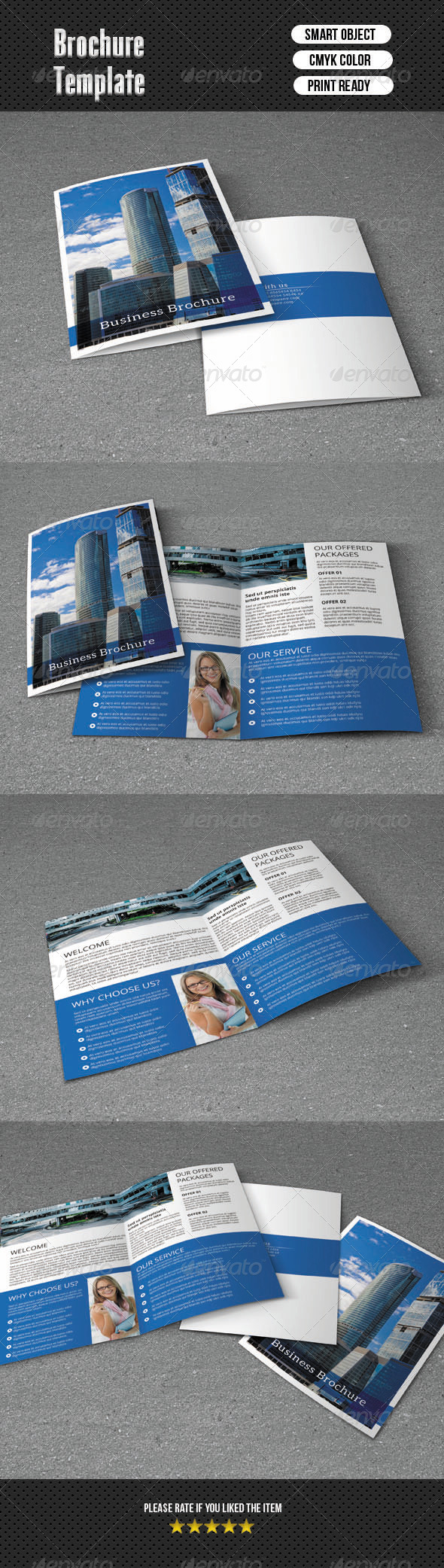 GraphicRiver Bifold Brochure-Business 6421557