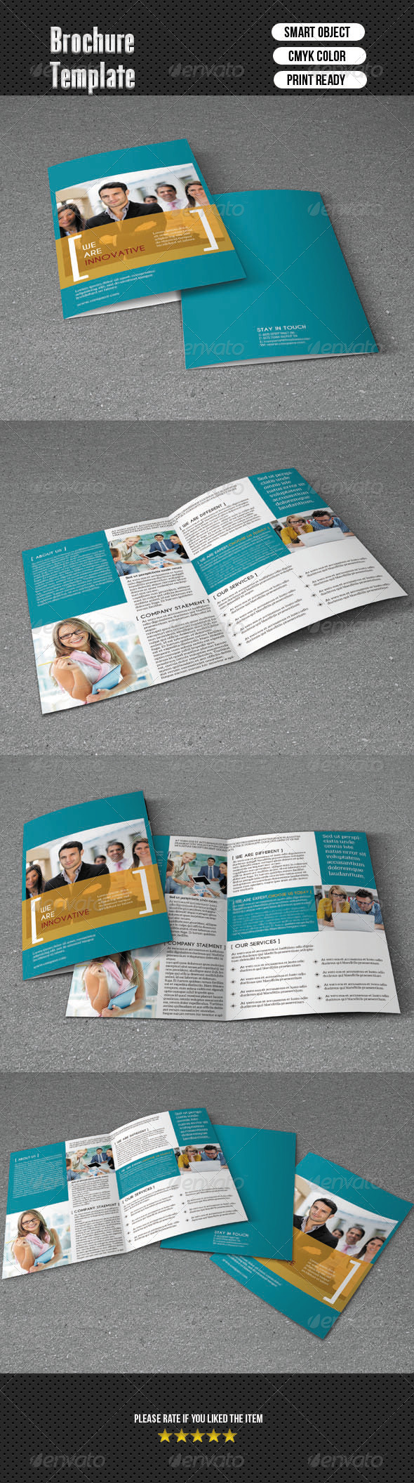 GraphicRiver Bifold Brochure-Business 6512542