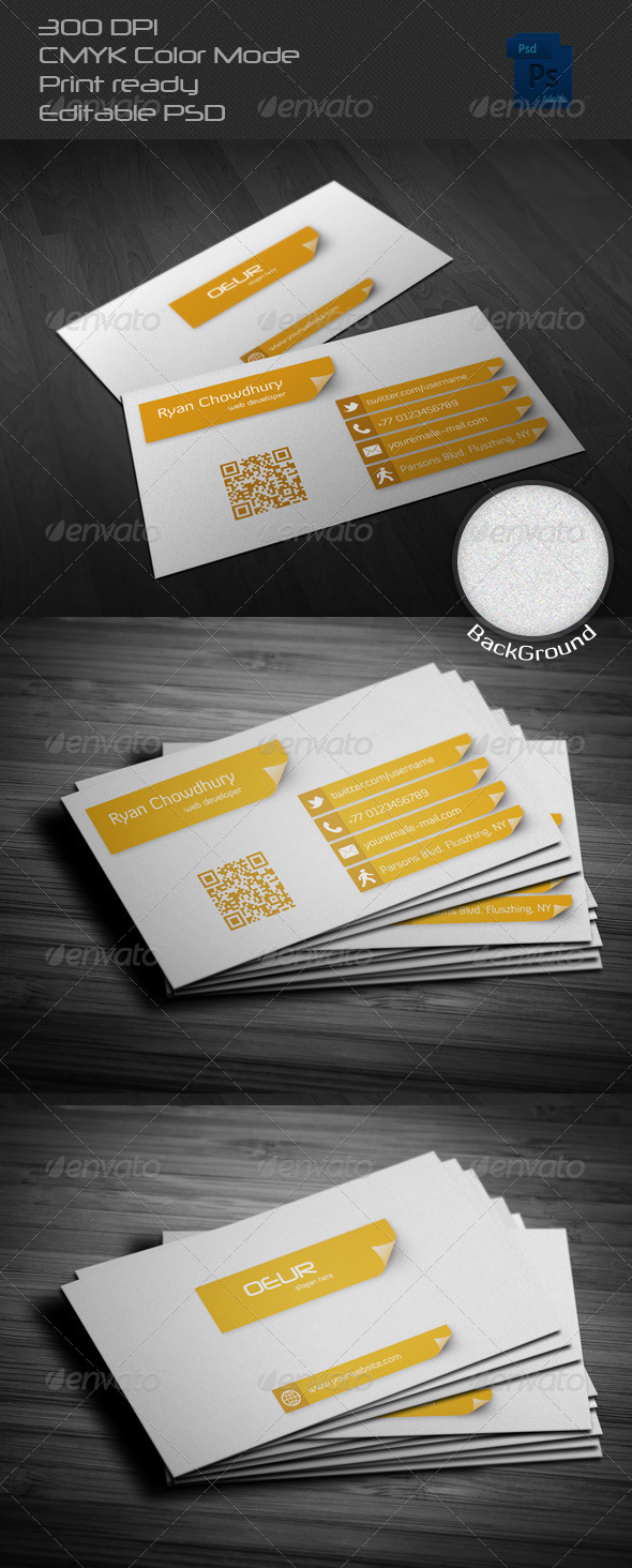 GraphicRiver Creative Business Card 6512643