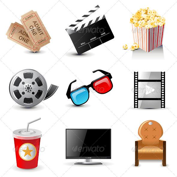 GraphicRiver Movie Icons 6512682