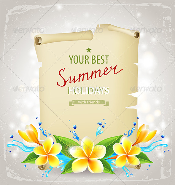 GraphicRiver Summer Time Background 6512729