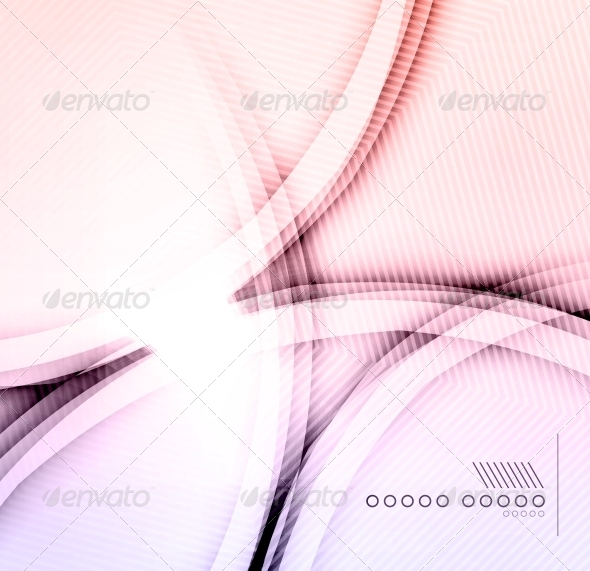 GraphicRiver Purple Shadow Wave Abstraction 6512744