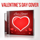 Love Songs for Valentine's Day CD Cover Artwork - GraphicRiver Item for Sale