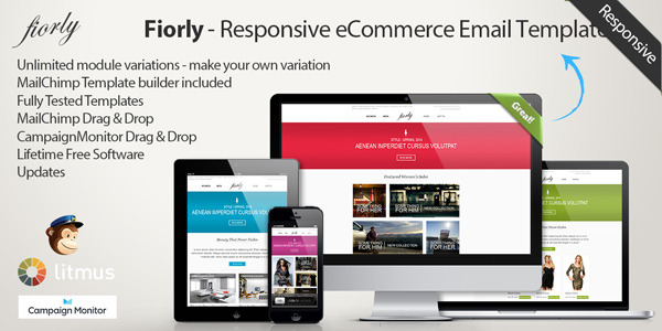 Fiorly - Responsive eCommerce Email Template