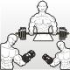 Bodybuilding Stencils - GraphicRiver Item for Sale