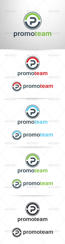 GraphicRiver Promo Team Letter P Logo 6512800