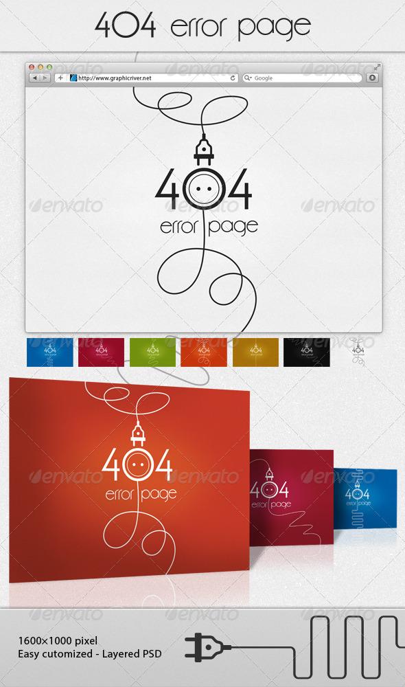 GraphicRiver socket 404 error page 6481469