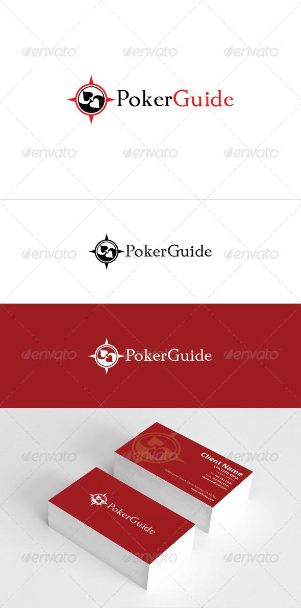 Poker Guide Logo Template