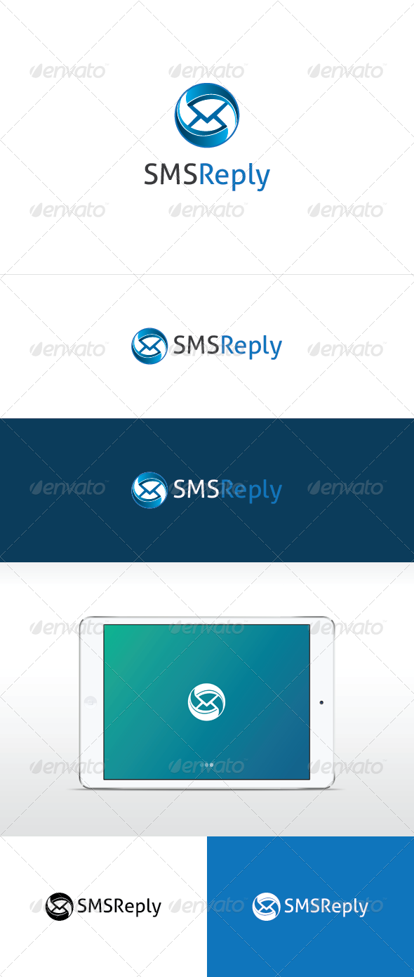 SMS Reply Logo Template