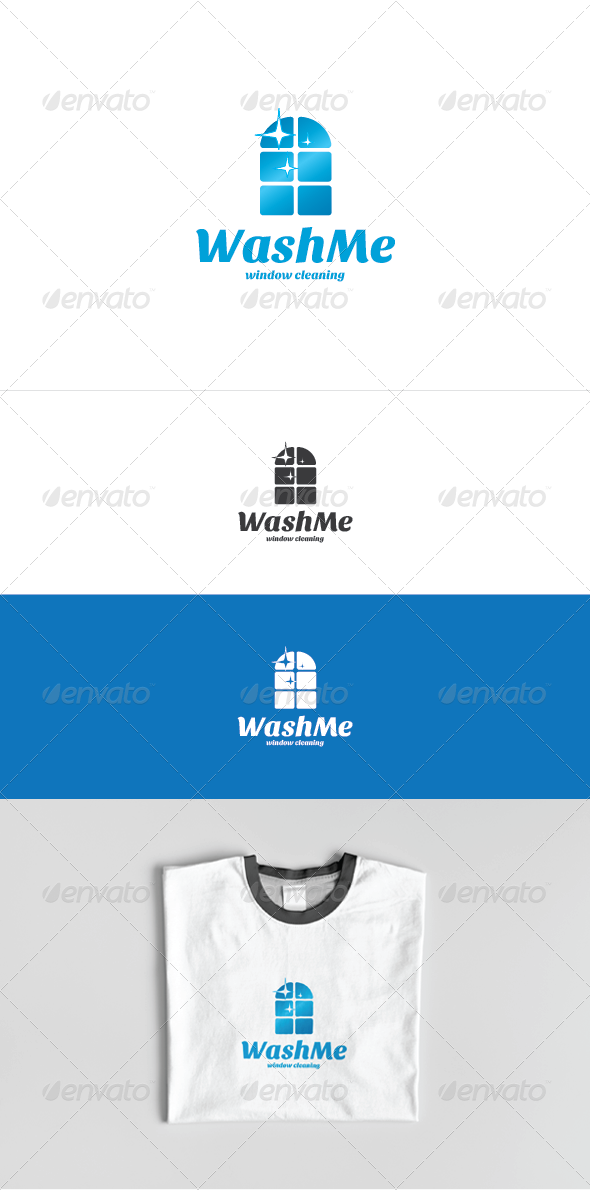 Wash Me Logo Template - Symbols Logo Templates