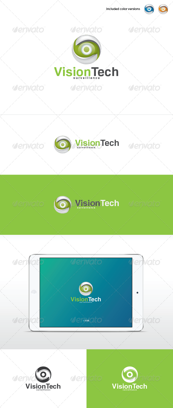 Vision Tech Logo Template