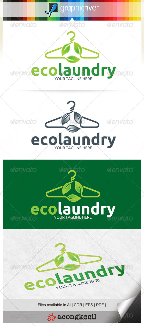 GraphicRiver Eco Laundry 6513270