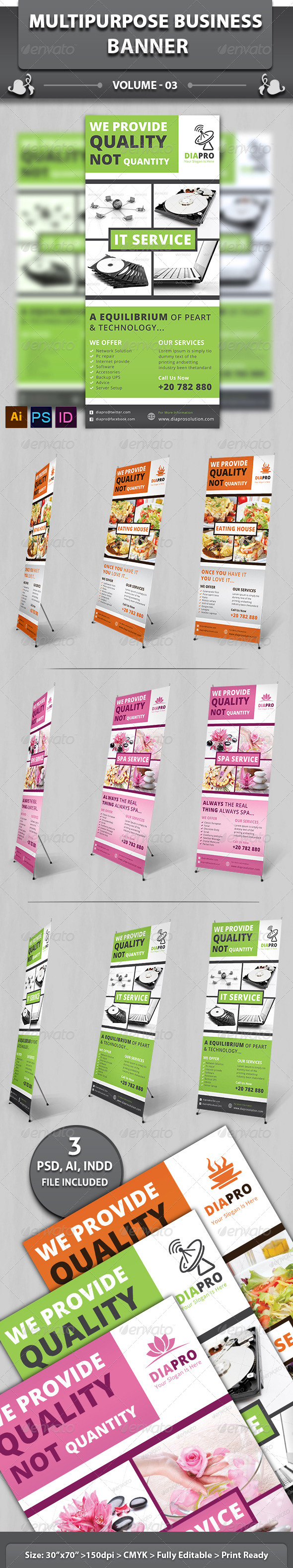 GraphicRiver Multipurpose Business Banner Volume 2 6513290