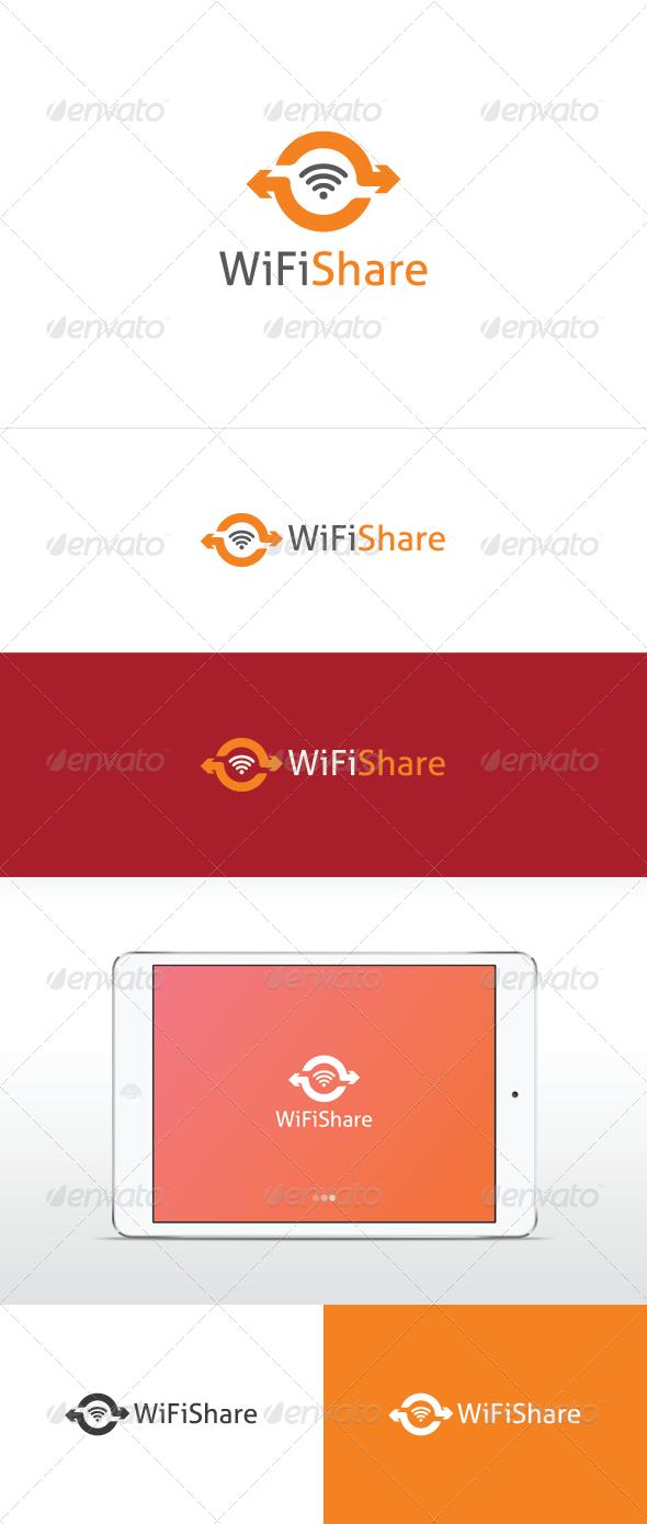 Wifi Share Logo - Symbols Logo Templates