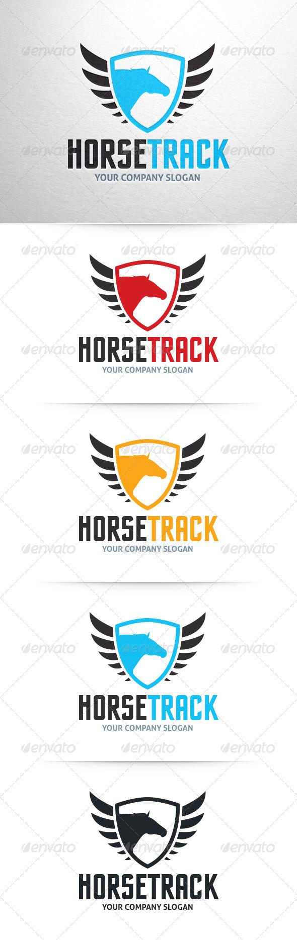 GraphicRiver Horse Track Logo Template 6513343