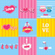 Retro Love Card - GraphicRiver Item for Sale