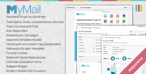 MyMail v1.6.4.2 – CodeCanyon Email Newsletter Plugin for WordPress