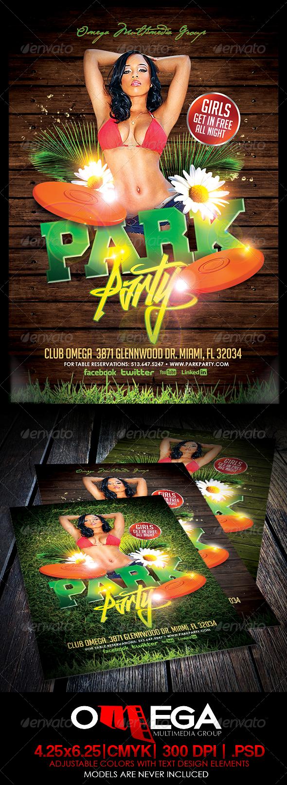 GraphicRiver Park Party 6514016