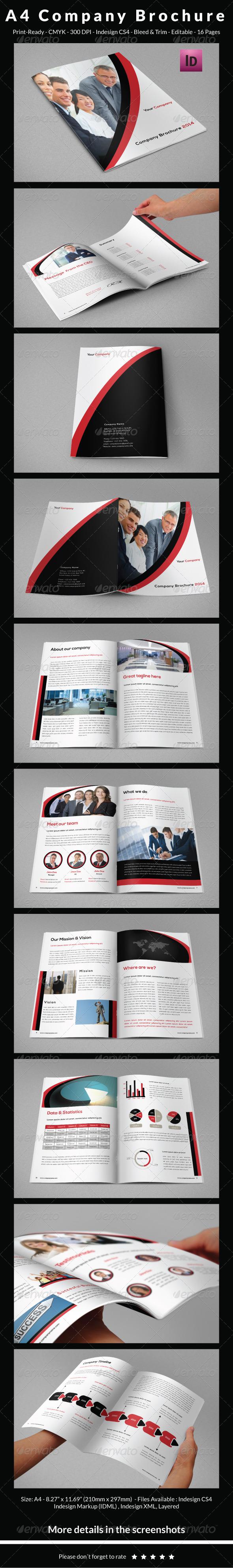 GraphicRiver A4 Company Brochure 6514071