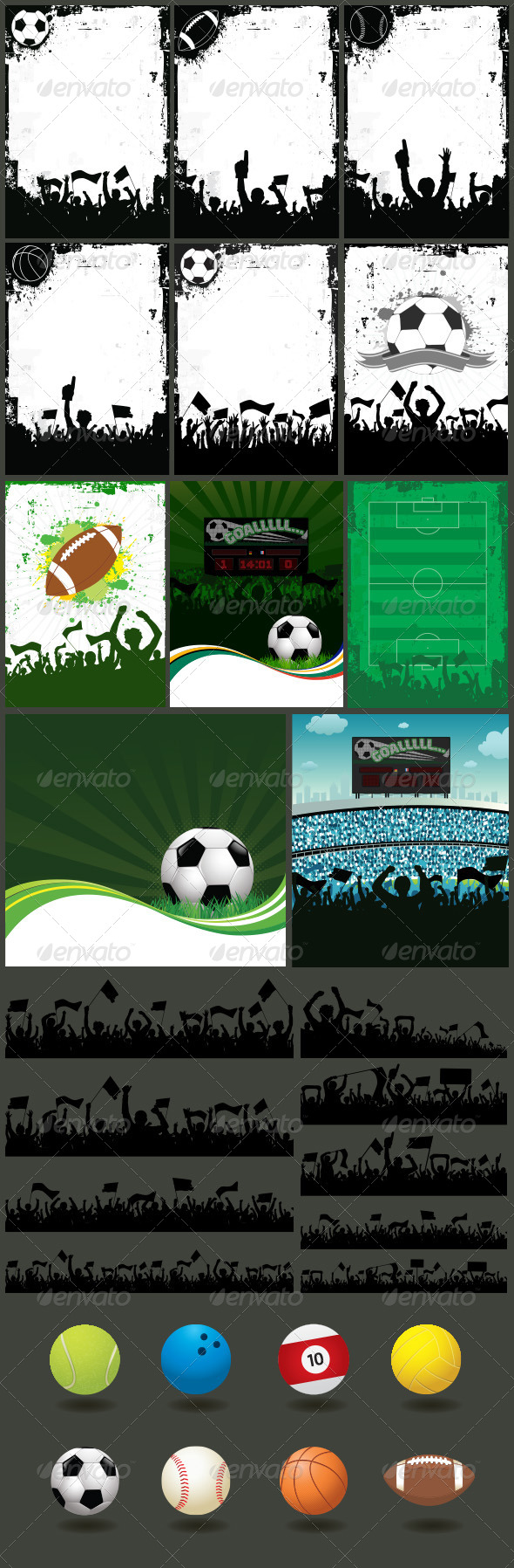 Sport Backgrounds - Sports/Activity Conceptual