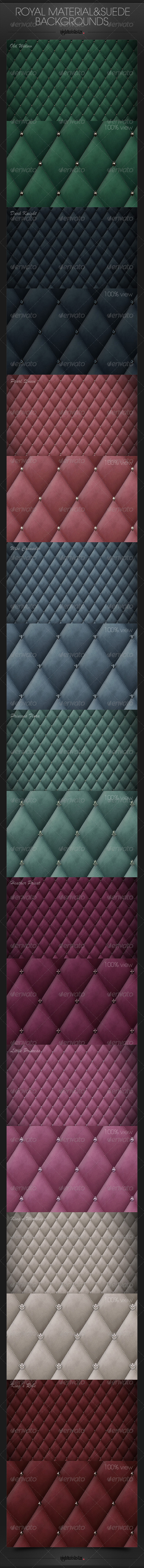 GraphicRiver Royal Material & Suede Backgrounds 6514079