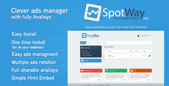 CodeCanyon Ads Managment Platform With Full Analysis v1.1 6492608