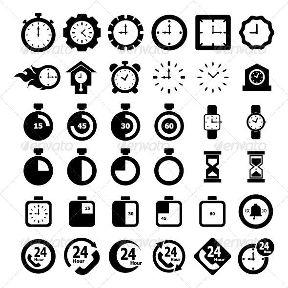 GraphicRiver Time Icon 6514286