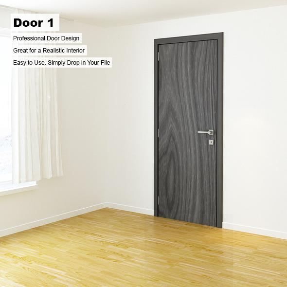 3DOcean Door 1 6514431