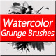 Watercolor Grunge Brushes - GraphicRiver Item for Sale
