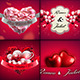 Valentine Backgrounds/Cards Classy Vol.1 - GraphicRiver Item for Sale