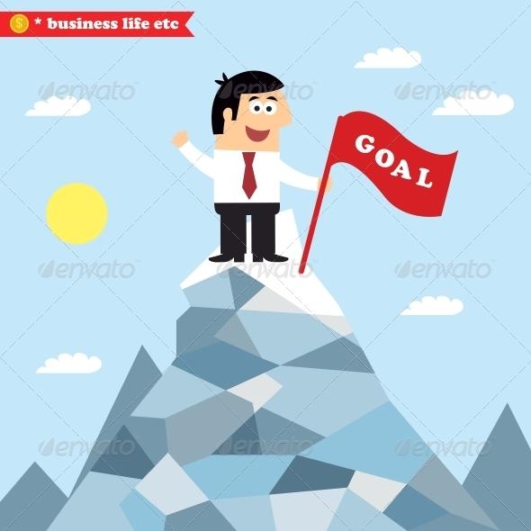 GraphicRiver Business Goal Achievement 6515227