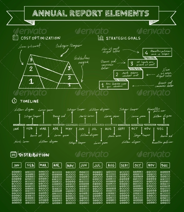 GraphicRiver Chalkboard Infographics Elements 6515267