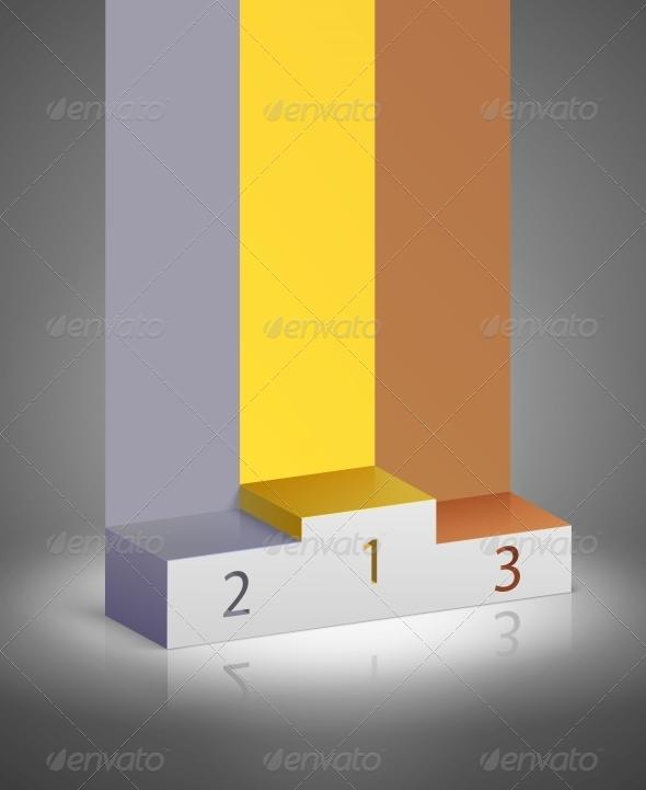 GraphicRiver Sports Winners Podium 6515338