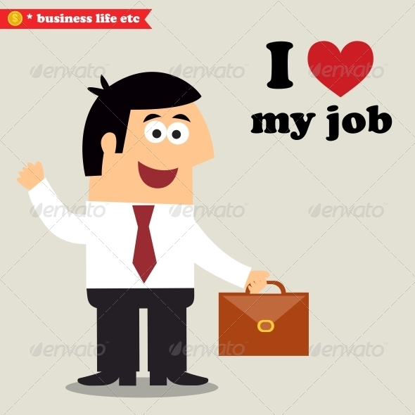 GraphicRiver I Love My Job 6515755