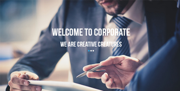 Corporate Multipurpose Muse Template