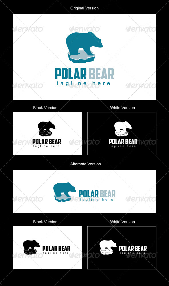 Polar Bear Logo Design