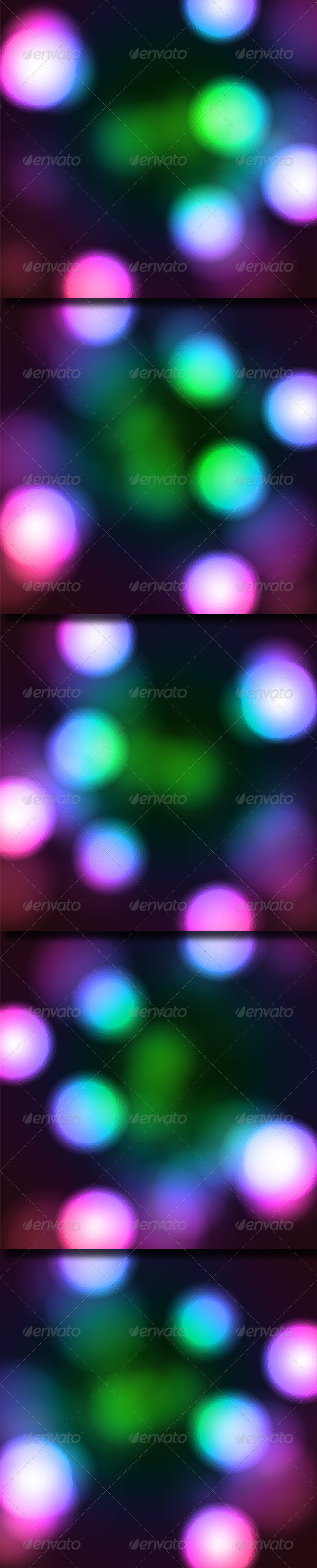 GraphicRiver Glowing Colored Spots 6516187