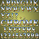 Chrome Metal Letters - GraphicRiver Item for Sale